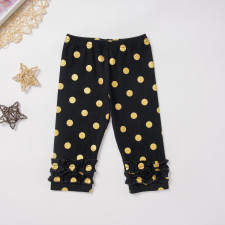 Kids Girl Print Polka Leggings