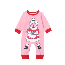 Baby Girl Christmas Print Rompers