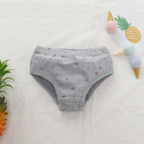 Kids Unisex Print Panties 3pcs Set