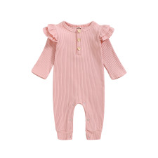 Baby Girl Long Sleeve Knitting Rompers