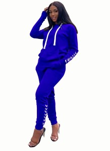 Blank Strings Long Sleeve Sweat Suit