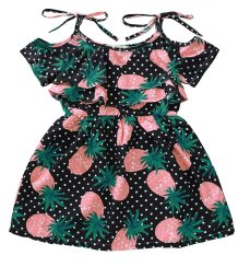 Kids Girl Summer Straps Dress