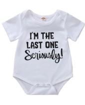 Baby Boy Print Sommer Strampler Unterwäsche