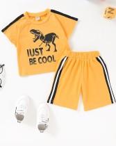 Рубашка и шорты с летним принтом Kids Boy