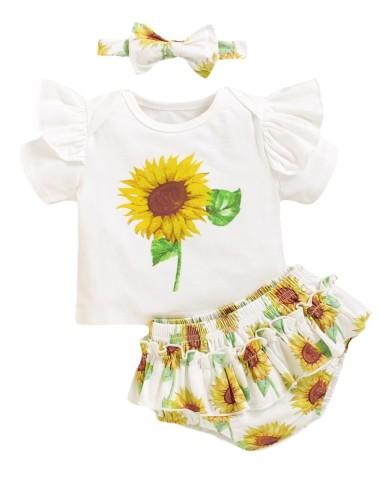 Panty Summer Baby Girl Set con archetto