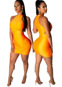 Sexy Cut Out Scoop Bodycon Dress