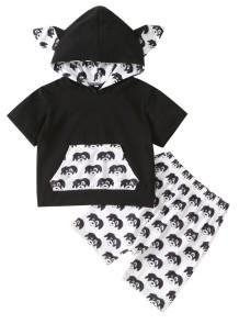 Детская футболка и шорты с принтом Summer Boy