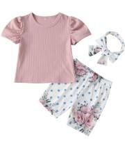 Conjunto de tres piezas para niños Summer Girl