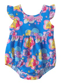 Baby Girl Summer Cartoon Rompers