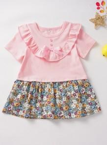 Детское летнее платье с цветочным принтом Summer Girl