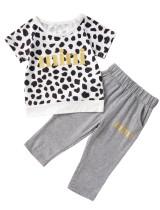 Kids Boy Sommer Print Shirt und Hose
