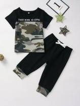 Набор летних камуфляжных штанов для мальчиков