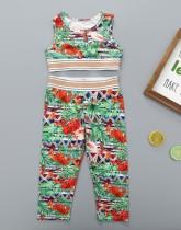 Canotta e pantaloni estivi per bambina