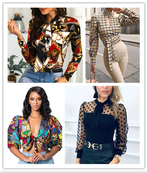 Mode Frauen toppt auf globalen Liebhaber