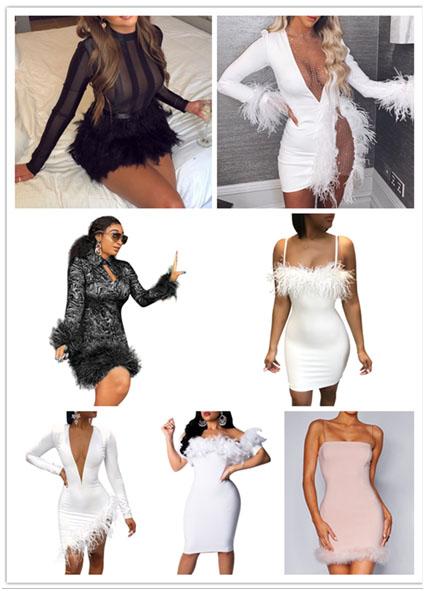 Gefiederte Kleidung