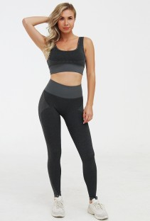 Sexy Yoga Bra and High Waist Legging