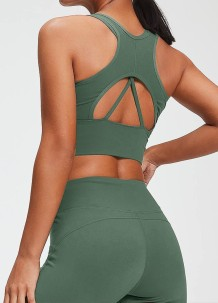 Sexy Two Piece Yoga Matching Set