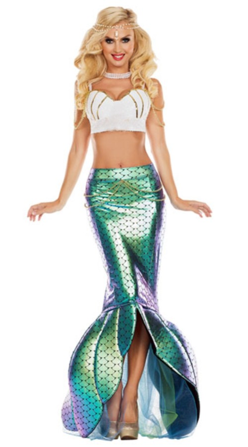 Tweedelig zeemeermin kostuum