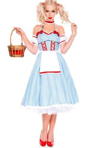 Bier Mädchen Kleid Kostüm