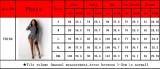 Langarm-Bodycon-Strampler mit weißem und schwarzem Aufdruck