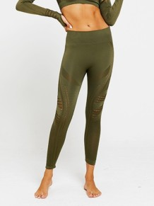 Hollow Out Fitness Yoga Pants