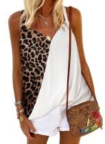 Летняя рубашка с леопардовым принтом