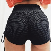 Sexy Butt Scrunch Stracked Yoga Shorts