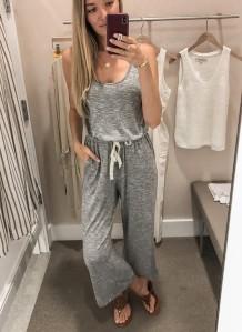 Sommer Träger Jumpsuit Homewear