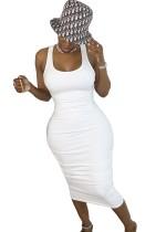 Sommer Sexy Sheer Bodycon Weste Kleid