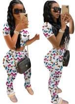 Yazlık Batik İki Parça Pantolon Takım