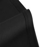 Прозрачное платье-карандаш без рукавов с баской