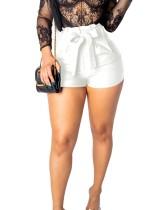 Pantalones cortos de verano sexy de cintura alta