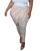 Pantaloni Tye Dye estivi taglie forti