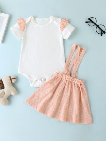 Baby Girl Summer Strampler und Rock Set