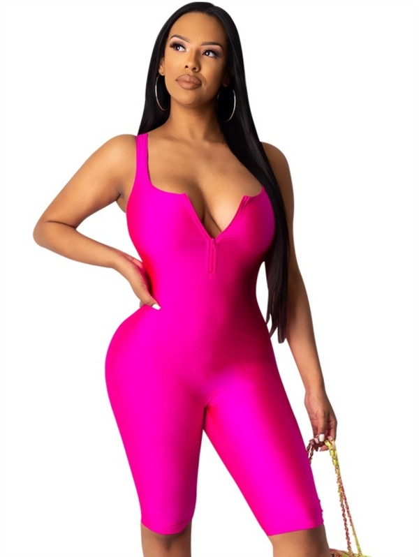Summer Sports Sexy Bodycon Rompers
