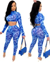 African Sexy zweiteilige Bodycon Pants Set