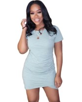 Yazlık Şeffaf Mini Günlük Elbise
