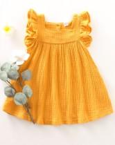 Vestido de volantes de verano de niña para niña