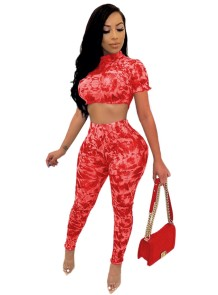 Conjunto de pantalones bodycon de dos piezas sexy de verano