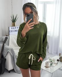 Summer Sheer zweiteilige Shorts Pyjama Set