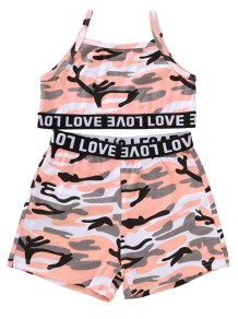 Kids Girl Summer zweiteiliges Print Short Set