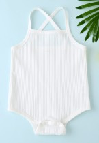 Baby Girl Summer Straps Rompers Ropa interior