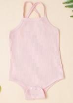 Baby Girl Summer Straps Strampler Unterwäsche