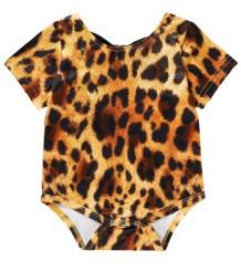 Macacões do leopardo do verão do bebê
