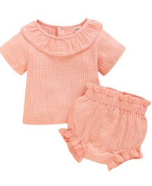Baby Girl Summer Two Piece Short Set