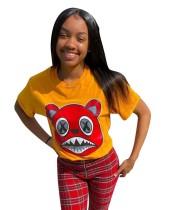Sommer Print O-Neck Shirt