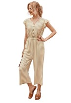 Zomer Casual strepen losse jumpsuit