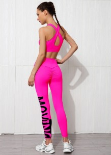 Summer Sports Yoga Bra and Legging Set