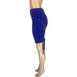 Shorts ajustados con cordones sexy