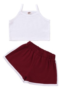 Kids Girl Summer Sports Two Piece Short Set